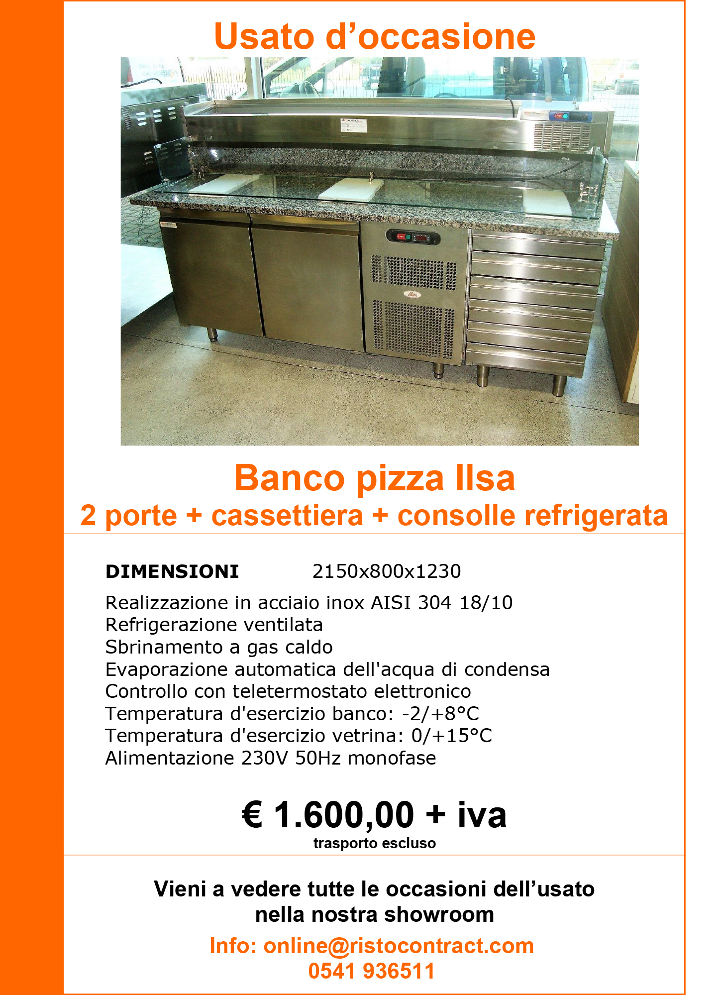 banco pizza Ilsa