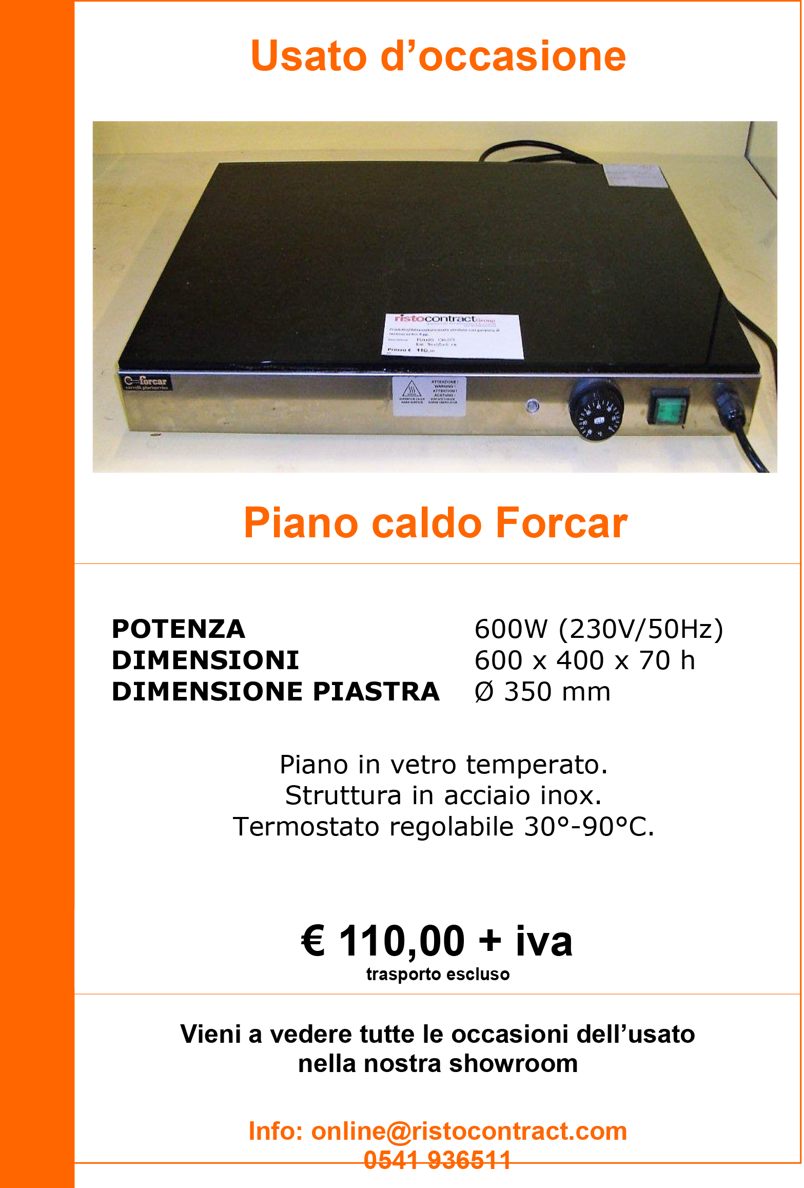 piano caldo forcar